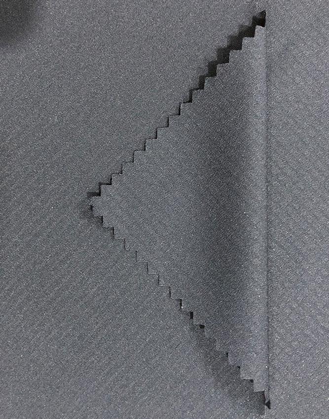 Umweltfreundlicher Stoff R19-3589 Rippenstopp 50% recyceltes Polyester