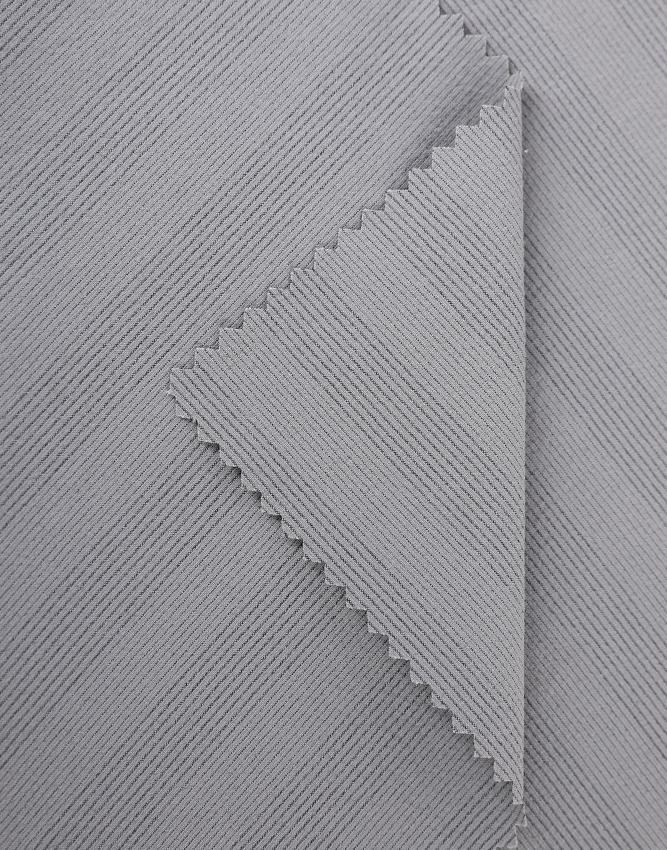 Sportstoff 732 Nylon 4-Wege-Stretchmaterial mit schwarzer Polyesterfaser